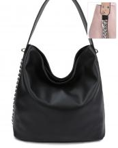 LD125(BK)-S21-wholesale-handbag-fashion-leatherette-solid-color-silver-tone-metal-chain-plain-distressed-faux(0).jpg