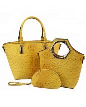 LF114(YL)-(SET-3PCS)-wholesale-handbag-3pc-set-pouch-bag-alligator-ostrich-pattern-vegan-leatherette-gold-metal-wristlet(0).jpg