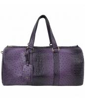 LF128(PP)-(SET-2PCS)-wholesale-duffle-bag-set-pouch-alligator-ostrich-leatherette-luggage-tag-double-zipper-travel-(0).jpg