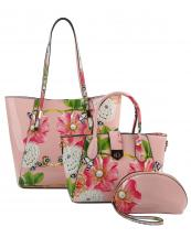 LF147F(BS)-(SET-3PCS)-wholesale-handbag-pouch-bag-floral-butterfly-pearl-rhinestone-graphic-patent-faux-vegan-leatherette(0).jpg