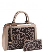 LF1971W(BS)-(SET-2PCS)-wholesale-handbag-wallet-set-2pcs-leopard-padlock-gold-metal-compartment-bottom-leatherette-wristlet(0).jpg