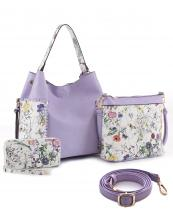 LF5090AT(LAV)-wholesale-vegan-leatherette-handbag-set-floral-pattern-tassel-magnetic-messenger-bag-wallet(0).jpg