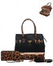 LH0491W(BK)-wholesale-handbag-wallet-set-2pcs-leopard-padlock-gold-metal-compartment-bottom-leatherette-wristlet(0).jpg