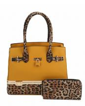 LH0491W1(MD)-(SET-2PCS)-wholesale-handbag-wallet-set-2pcs-leopard-padlock-gold-metal-compartment-bottom-leatherette-wristlet(0).jpg