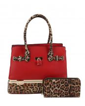 LH0491W1(RD)-(SET-2PCS)-wholesale-handbag-wallet-set-2pcs-leopard-padlock-gold-metal-compartment-bottom-leatherette-wristlet(0).jpg