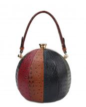 LHU079O(MUL1)-wholesale-handbag-alligator-ostrich-animal-pattern-leatherette-rhinestone-ball-sphere-gold-frame(0).jpg