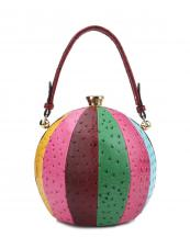 LHU079O(MUL3)-wholesale-handbag-alligator-ostrich-animal-pattern-leatherette-rhinestone-ball-sphere-gold-frame(0).jpg