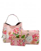 LHU2042W(BS)-(SET-3PCS)-wholesale-handbag-pouch-bag-wallet-floral-butterfly-zipper-patent-vegan-pearl-graphic-rhinestone(0).jpg