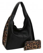 LMS1081W(BK)-(SET-2PCS)-wholesale-handbag-wallet-leopard-animal-pattern-zipper-closure-solid-handle-vegan-leatherette-hobo(0).jpg