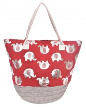 LOA114(RD)-Wholesale-animal-elephant-pattern-tote-bag-silver-tone-hardware-microfiber-interior-lining(0).jpg