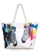 LOA314-wholesale-tote-bag-Zebra-Inside-wall-pocket-polyester-cotton(0).jpg