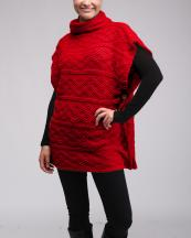 LOF140(RD)-wholesale-poncho-turtleneck-geometric-cowl-pattern-kintted-solid-color-buttons-armhole-acrylic(0).jpg