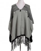 LOF387(GY)-wholesale-fashion-poncho-tassel-two-tone-knitted-one-size-acrylic-long-fringe-warm-(0).jpg