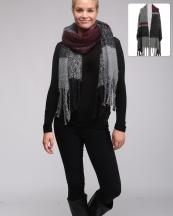 LOF606(BK)-wholesale-scarf-wrap-shawl-plaid-checkered-oblong-multicolor-embossing-knitted-fringe-oversized-poly(0).jpg