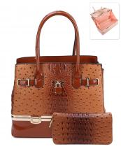 LQ0501W(BR)-wholesale-handbag-2pc-set-wallet-alligator-ostrich-animal-pattern-padlock-patent-vegan-leatherette(0).jpg