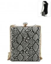 LQ126SN(GY)-wholesale-messneger-bag-snake-animal-pattern-vegan-rhinestone-gold-metal-frame-chain-strap-crossbody(0).jpg