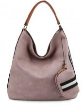 LSD013(BLSH)-wholesale-handbag-coin-purse-stripe-vegan-leather-solid-color-shoulder-strap-matching-2-in-1(0).jpg