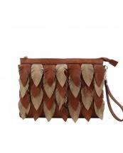 LY112(BR)-wholesale-messenger-bag-feather-leatherette-two-tone-color-gold-vegan-crossbody-wristlet-feathery(0).jpg