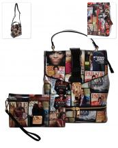 MB5001HS(BK)-(SET-2PCS)-wholesale-backpack-messenger-bag-magazine-patent-convertible-wristlet-michelle-barack-obama-hologram(0).jpg