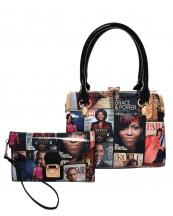 MB5006S(BK)-(SET-2PCS)-wholesale-handbag-wristlet-magazine-patent-faux-leather-michelle-barack-obama-gold-frame(0).jpg