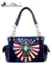 MW2578085(NV)-MW-montana-west-western-handbag-cross-medallion-turquoise-stone-american-flag-us-stars-striped-spritual(0).jpg