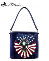 MW257916(NV)-MW-montana-west-western-handbag-cross-medallion-turquoise-stone-american-flag-us-stars-striped-spritual(0).jpg