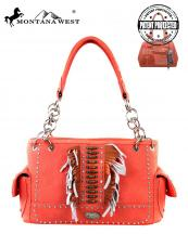 MW303G8085(COR)-MW-wholesale-montana-west-handbag-native-indian-beaded-two-tone-fringe-logo-silver-studs-concealed(0).jpg