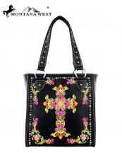 MW3258113(BK)-MW-wholesale-montana-west-handbag-cross-colorful-floral-embroidery-crystal-silver-studs-rhinestones(0).jpg