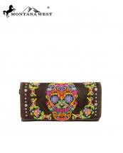MW326W002(CF)-MW-wholesale-montana-west-wallet-clutch-sugar-skull-embroidery-multicolor-rhinestones-silver-studs(0).jpg