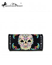 MW494W002(BKMUL)-MW-wholesale-montana-west-wallet-sugar-skull-embroidered-rhinestones-silver-studs-wristlet-pockets(0).jpg