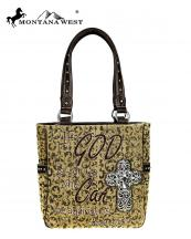 Mw5158281 Br Mw Whole Montana West Canvas Handbag