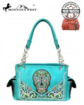 MW602G8085(TQ)-MW-wholesale-montana-west-handbag-sugar-skull-concealed-embroidered-floral-multicolor-rhinestones-studs(0).jpg
