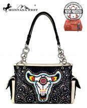 MW665G8085(BK)-MW-wholesale-montana-west-handbag-beaded-steer-head-cut-out-rhinestone-stud-concealed-carry-multi-color(0).jpg