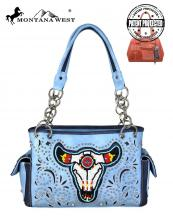 MW665G8085(BL)-MW-wholesale-montana-west-handbag-beaded-steer-head-cut-out-rhinestone-stud-concealed-carry-multi-color(0).jpg