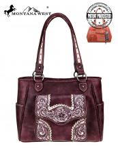 MW679G8307(BUR)-MW-wholesale-handbag-montana-west-floral-embroidered-rhinestone-stud-scallop-concealed-distress-pocket(0).jpg