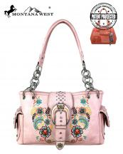 MW706G8085(PK)-MW-wholesale-handbag-montana-west-floral-embroidered-belt-buckle-multicolor-concealed-rhinestone-stud(0).jpg