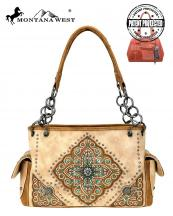 MW715G8085(TAN)-MW-wholesale-handbag-montana-west-concealed-aztec-tribal-floral-embroidered-concho-rhinestone-stud(0).jpg