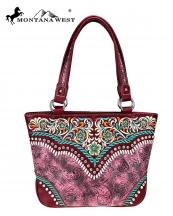 MW7268317(BUR)-MW-wholesale-handbag-floral-embroidered-rhinestone-stud-embossed-whipstitch-toned-color-vintage-pattern(0).jpg