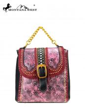MW7289110(BUR)-MW-wholesale-backpack-montana-west-floral-vintage-emboss-buckle-flap-rhinestone-stud-gold-stitch-chain(0).jpg