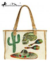MW7368112(TAN)-MW-wholesale-handbag-cinco-mexican-icon-paint-canvas-graphic-pu-leather-trim-catcus-skull-hat-poblano(0).jpg
