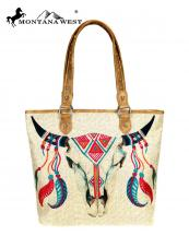 MW7379318(TAN)-MW-wholesale-handbag-steer-head-skull-paint-canvas-graphic-pu-leather-trim-native-american(0).jpg