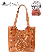 Mw767g8577 Br Mw Whole Handbag Montana West Aztec