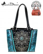 MW784G8317(BK)-MW-wholesale-handbag-montana-west-concho-turquoise-concealed-tribal-laser-cut-floral-emboss-gold-stud(0).jpg
