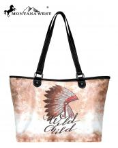 MW7878581(CF)-MW-wholesale-handbag-wide-tote-bag-native-american-graphic-fabric-indian-chief-headdress-wild-child(0).jpg
