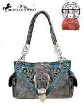MW795G8085(BK)-MW-wholesale-handbag-belt-buckle-floral-embroidered-rhinestone-western-concealed-flap-suede-feel-silver(0).jpg