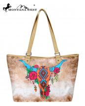 MW8008581(TAN)-MW-wholesale-handbag-wide-tote-bag-native-american-graphic-fabric-steer-head-skull-pu-leather-trimmed-(0).jpg