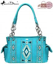 MW920G8085(TQ)-wholesale-concealed-carry-bag-southwestern-clutch-embroidered-aztec-pattern-compartment-divided(0).jpg