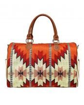 MW937-5110(BR)-MW-aztec-pattern-print-zipper-closure-open-pocket-double-handle(0).jpg