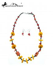 NK16082901(COR)-MW-wholesale-montana-west-necklace-earrings-set-coral-chips-stone-short-(0).jpg