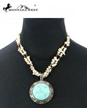NKS16031103(WT)-MW-wholesale-montana-west-necklace-dryed-turquoise-chips-semi-precious-stone-pendant-round-two-strand(0).jpg